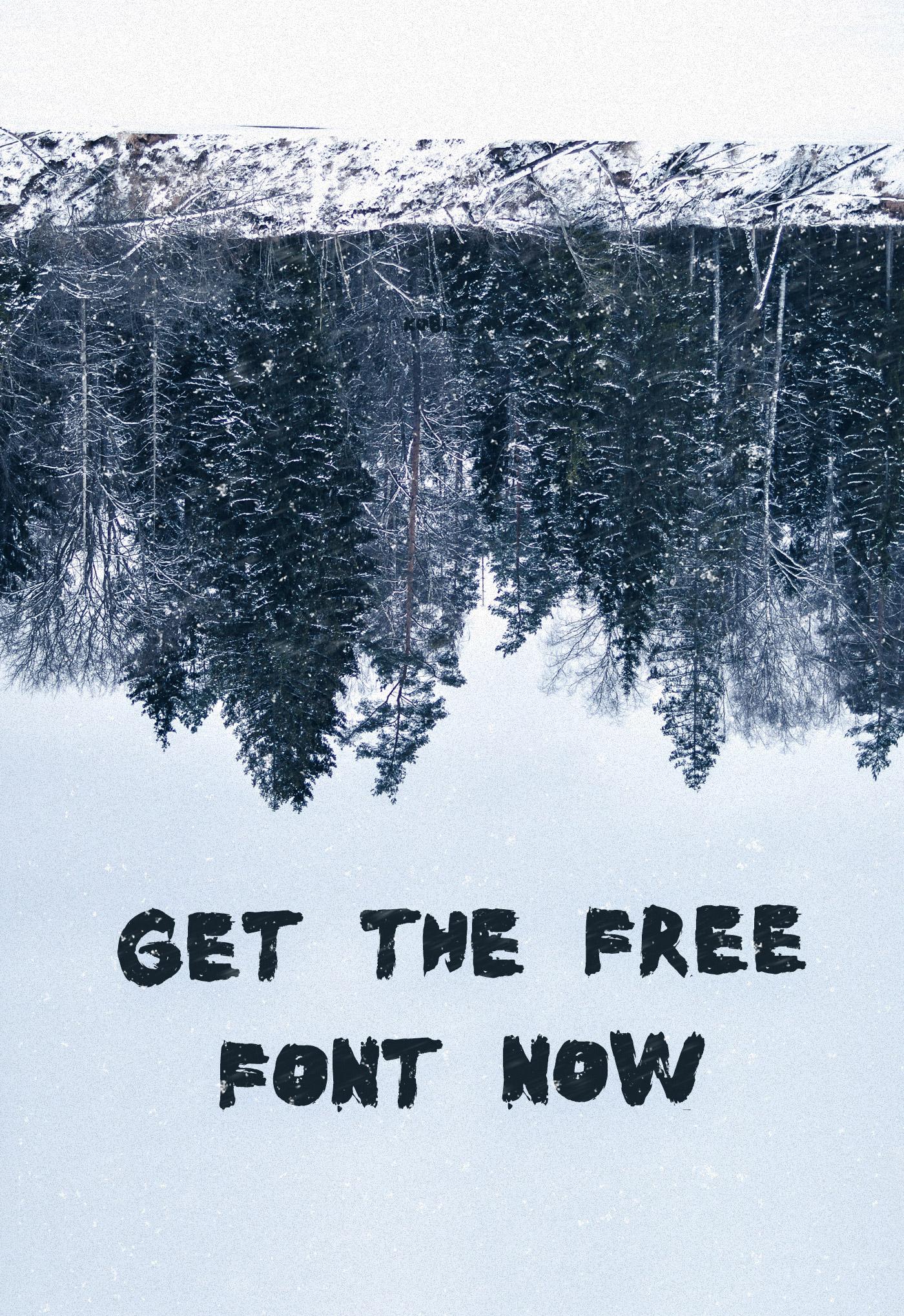 Kūst Brush Font