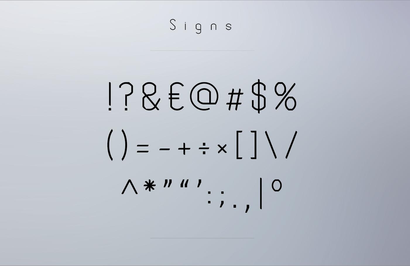 MODEKA – Typeface