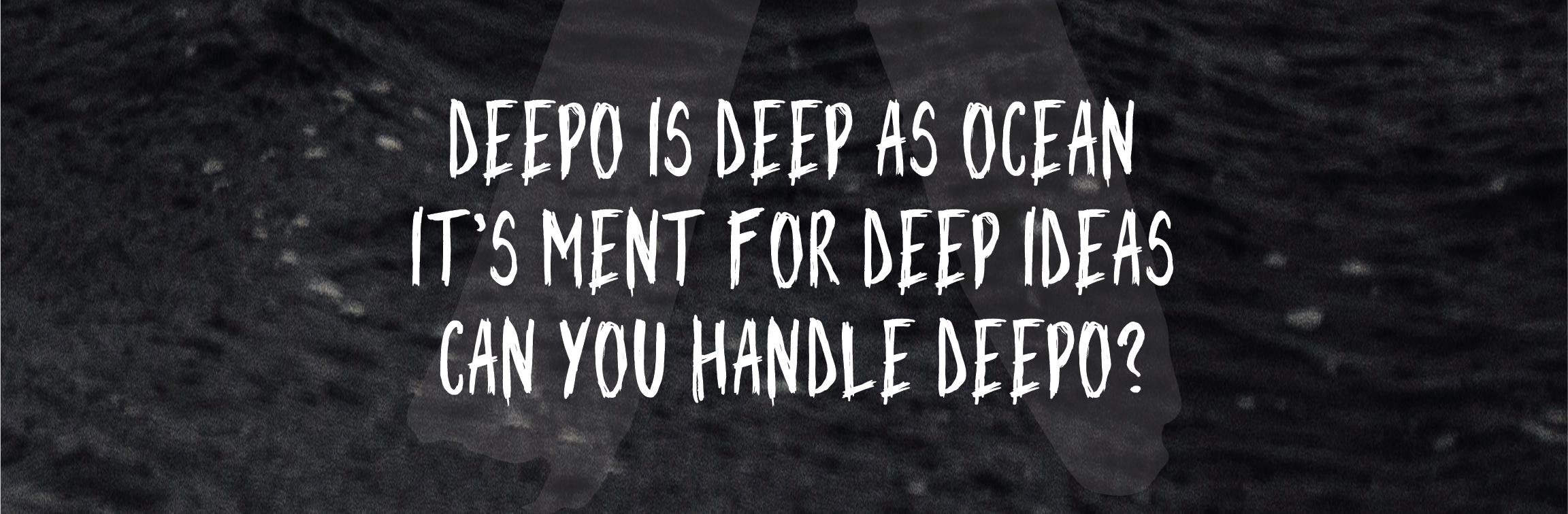 Deepo Handwriting Font