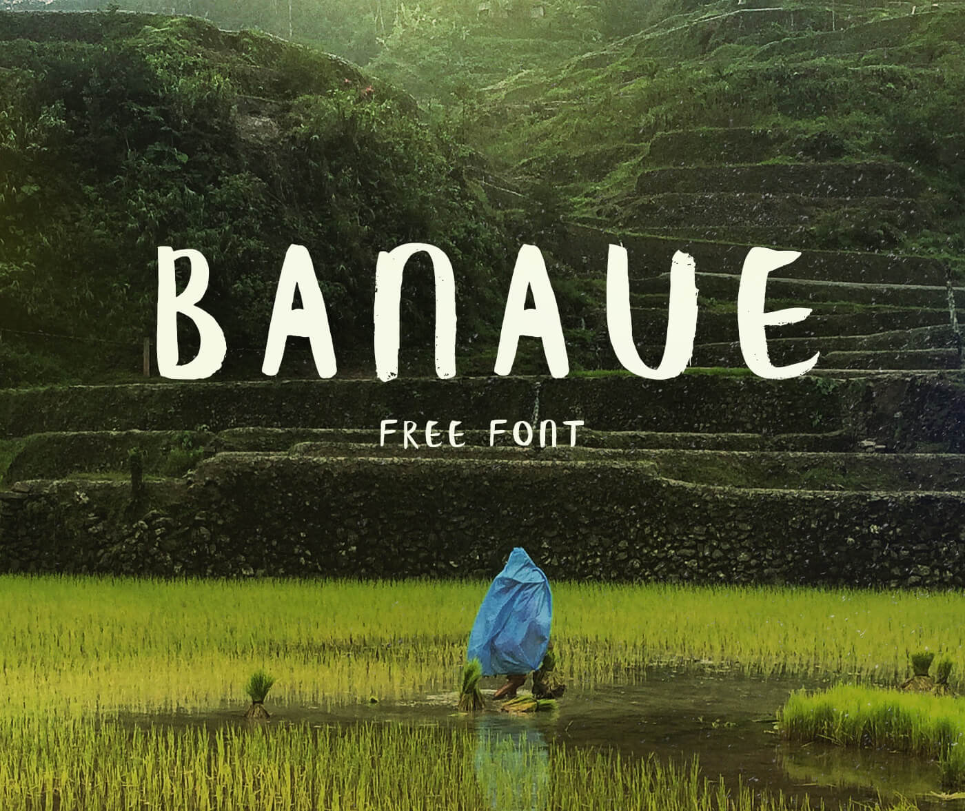 Banaue Handwritten font