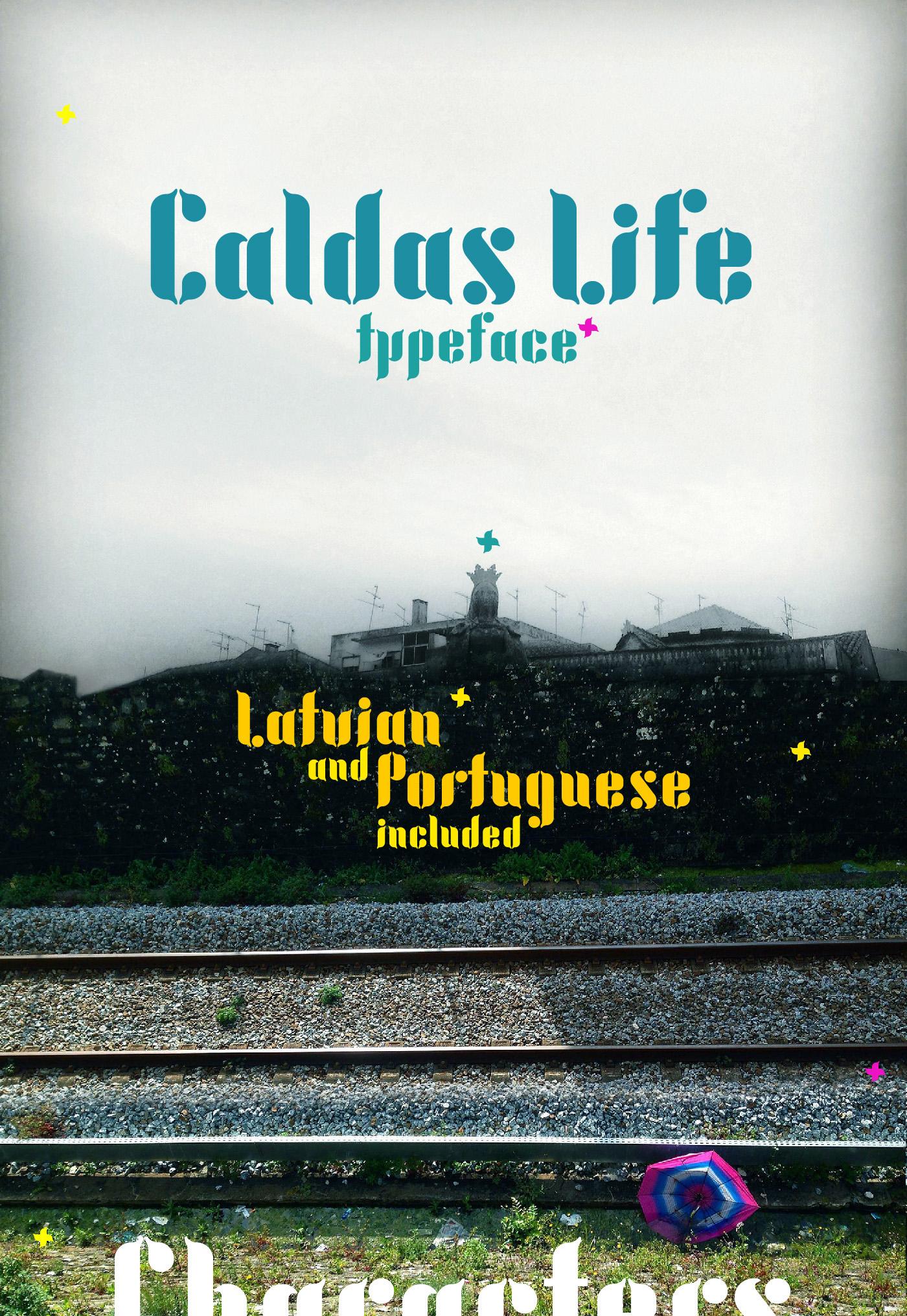 Caldas Life – Free Font