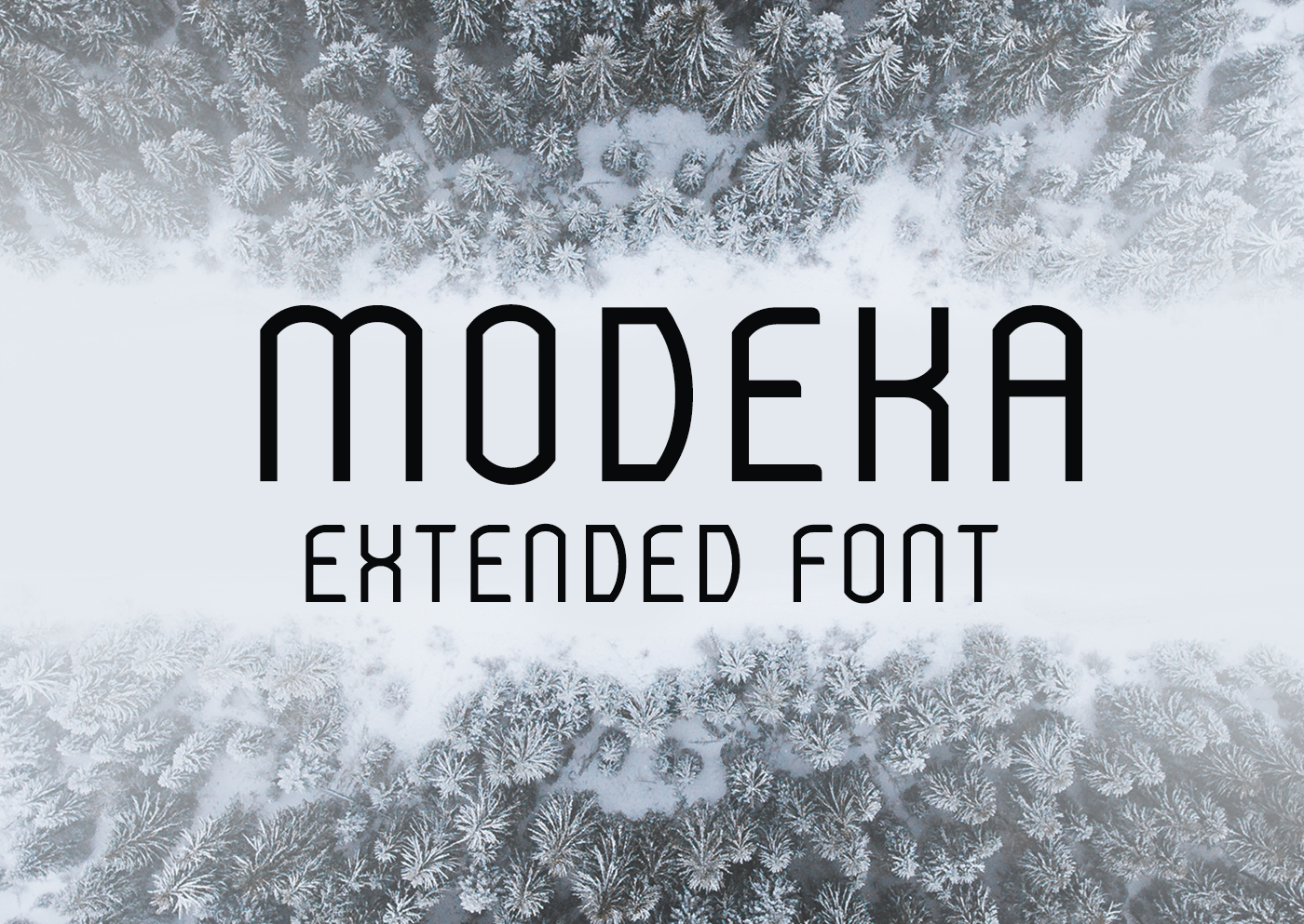 Modeka Extended Font