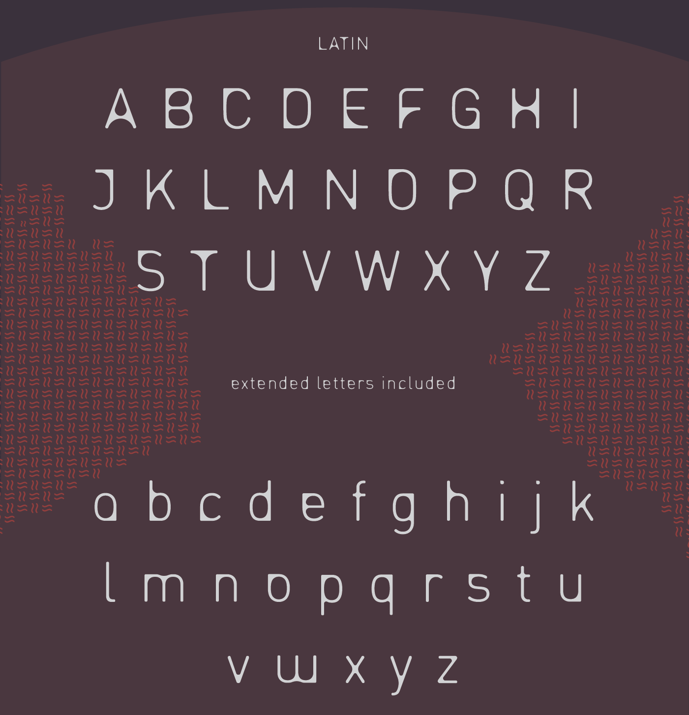 Entra Extended Font