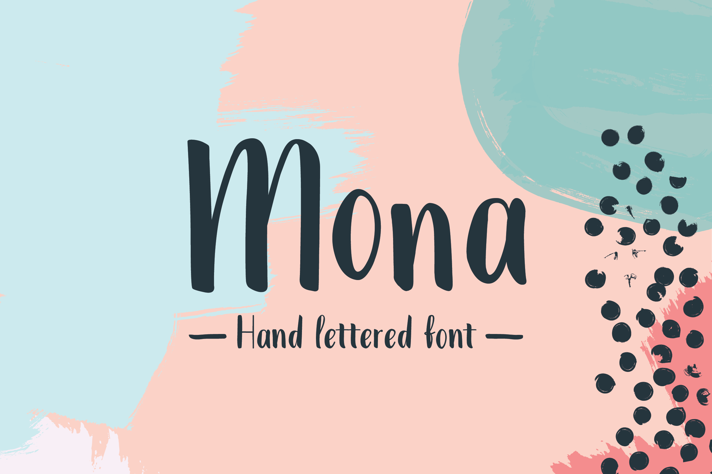 Mona Extended Font