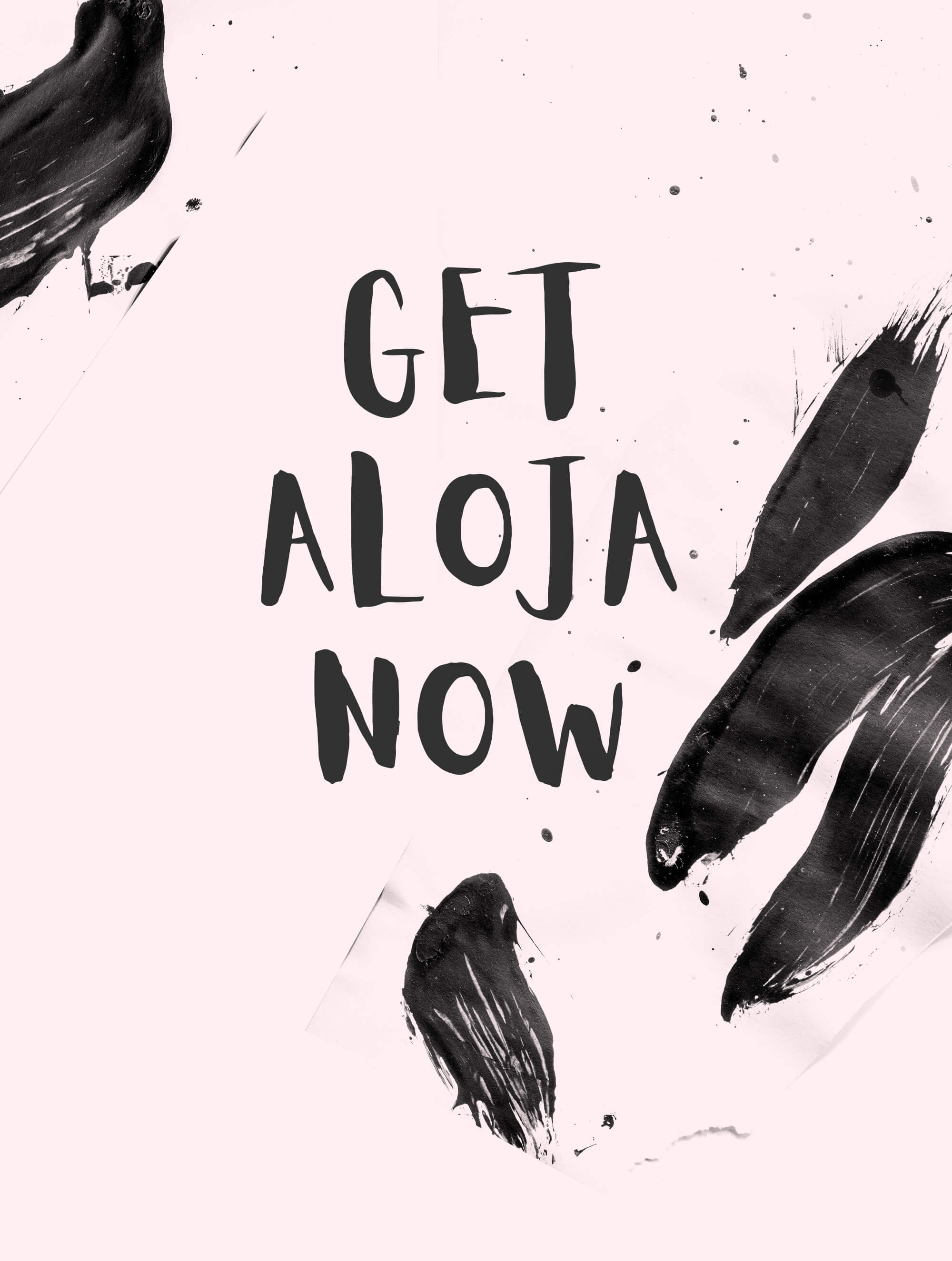Aloja Free Handwriting Font